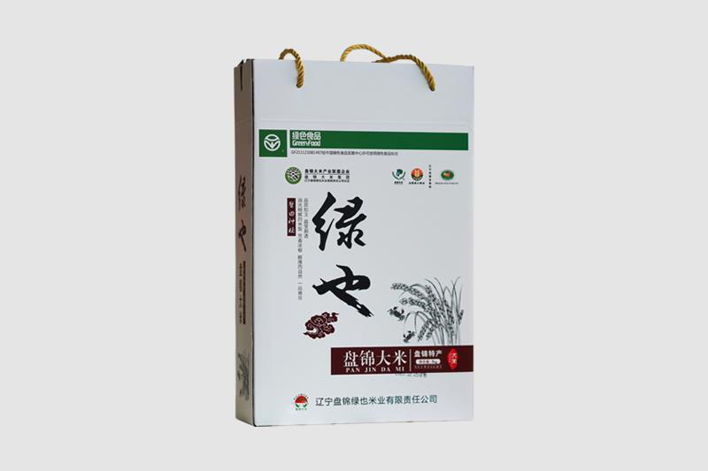 绿也盘锦大米
