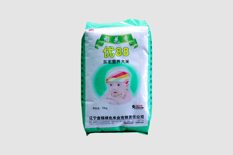 绿也稻花香优88东北营养大米15kg