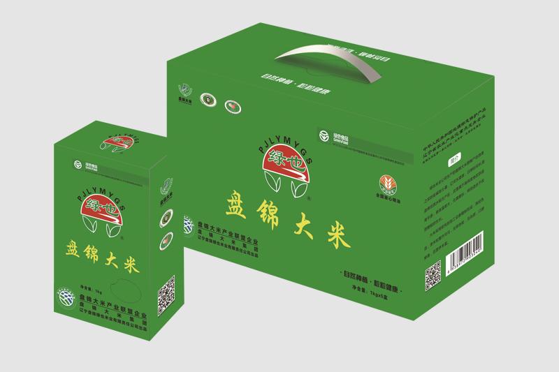 盘锦大米1kg×5盒